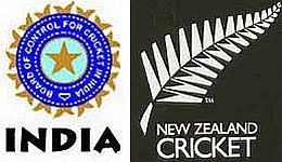 New Zealand tour of India Cricket 2010 Schedule Time Table
