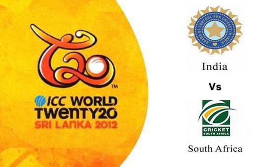 Watch India vs South Africa T20 World Cup 2012 Live Score Streaming