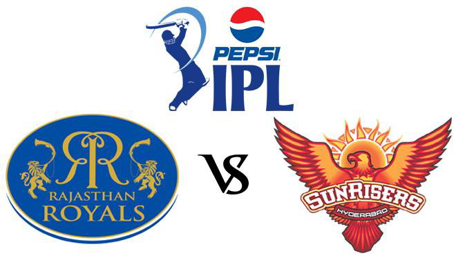 Sunrisers Hyderabad vs Rajasthan Royals